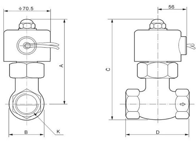 """5 шт. в партии 1-1/"""" Uni-D паровой Соленоидный клапан тефлоновый US-35 2/2 ходовые клапаны 2L300-35"""