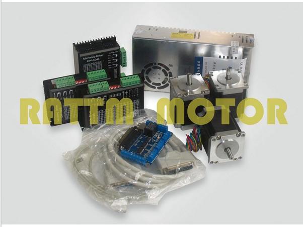 3 axis CNC controller kit 3 NEMA23 270 oz-in stepp...