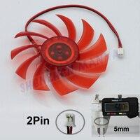 вентилятор компьютера контроллер охладитель воды 3 шт./лот красный пк с VGA видео видео охлаждения 80 мм 2-полюсная разъем fs013 бесплатная доставка