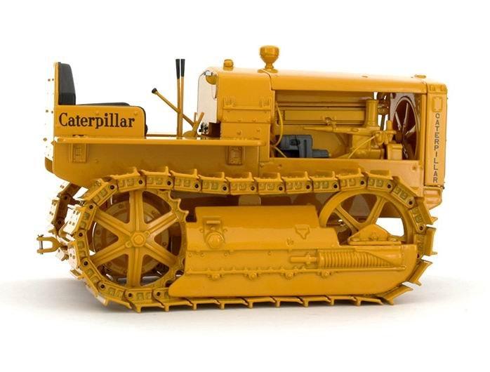 N-55154 1:16 трек-Тип трактор w/Металлический Игрушечный игровой набор