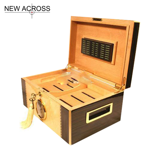 Gohide A Set Cedar Glossy Wood Cigar Storage Cabinet Box Cigar Boxes Case  Only Box Packing