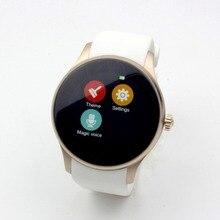 2016ใหม่ผู้หญิงกันน้ำสมาร์ทรอบนาฬิกาK88S S Mart W AtchสำหรับA Ndroid ISOแอปเปิ้ลซิมบลูทูธHeart Rate Monitorนาฬิกาโทรศัพท์