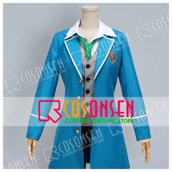 COSPLAYONSEN Ensemble Stars  Wataru Hibiki Cosplay Costume blue full set - DISCOUNT ITEM  0% OFF All Category