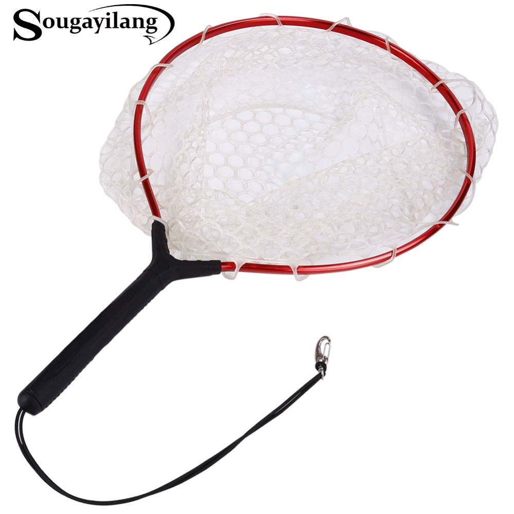 Sougayilang High Quality Super Strong Fly Fishing Net Pe
