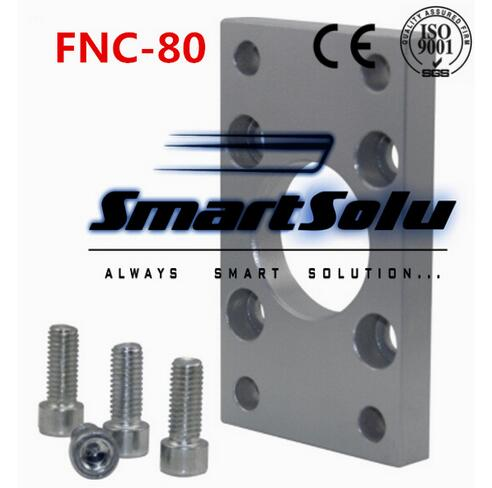 Free Shipping 5pcs/lots ISO6431 cylinder accessories FNC - 80, flange installation pieces, as FNC - 80, DNC, SE, SI free shipping 5pcs lots sg 160 200 iso6431 cylinder attachment y type joint u joints y