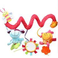 детские кровать висит музыкальные сиденье безопасности плюшевые игрушки колокольчик многофункциональный плюшевые игрушки коляска мобильного