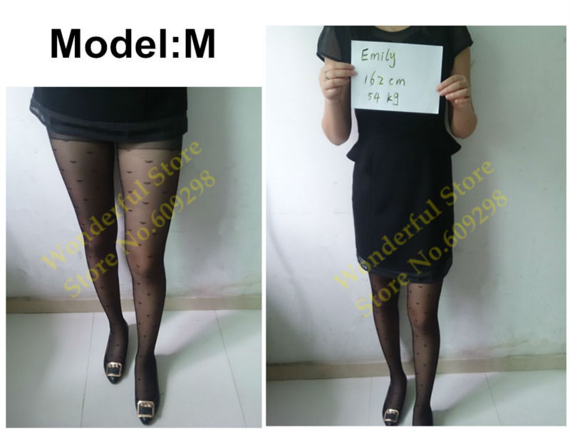 Sexy Pantyhose Tights Women Female Stockings Fashion Thin Sheer Long for Spring Fall Multi Pattern Free Shipping (11)