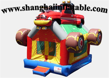 PVC inflatable playground bounce house for children font b entertainment b font