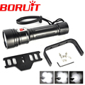 Diving Scuba Underwater 8000Lm 150m Flash Light 40W By 4x XM-L2 LED Flashlight 4 LED Dive Torch Waterproof Lamp Super T6