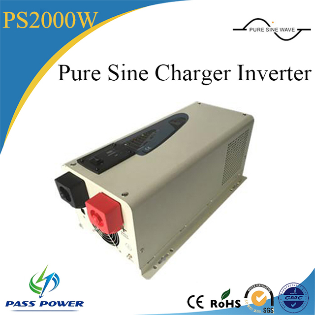 dc to ac home 2kw solar pump power inverter 12v24v48v 220v 2000w low frequency inverter with charger