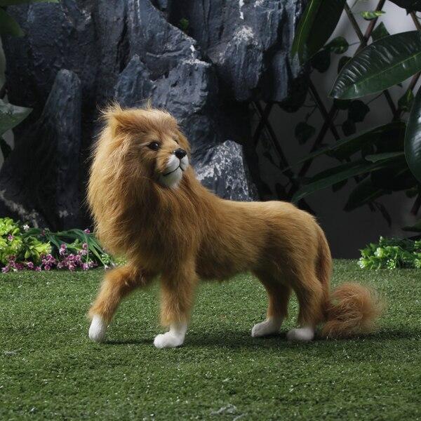 En71 Standard Garden Decoration Life Size Lion Statue