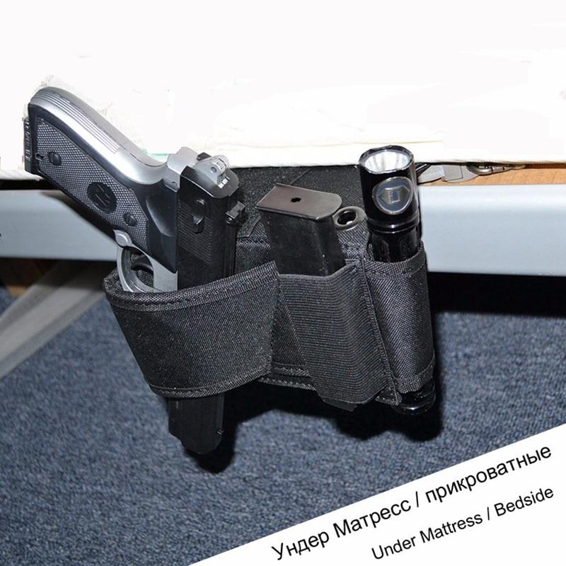 Hunting Shotgun Holder Under Mattress Pistol Holster Car