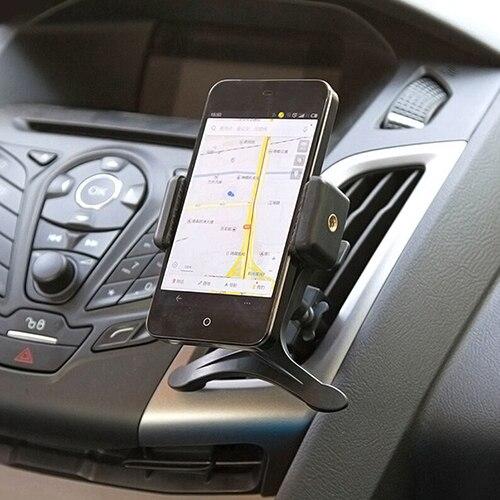 Черный Автомобиль Air Vent Колыбели держатель для мобильного Смарт сотовый телефон GPS