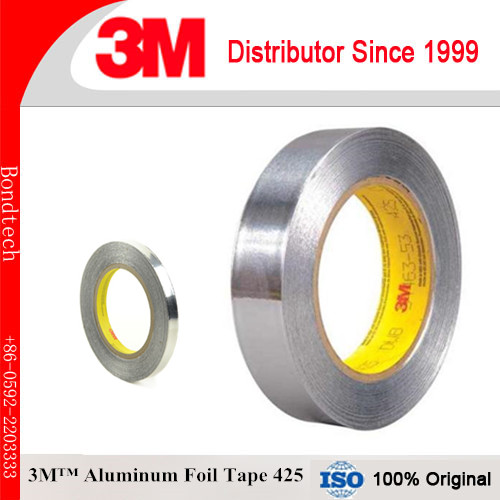 3M 425 Aluminum foil tape, 2 in X 60 YD, Pack of 1 1 52m x 0 3m 75