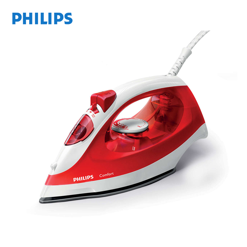 First Non Electric Steam Iron ~ Philips gc w electric iron coated non stick