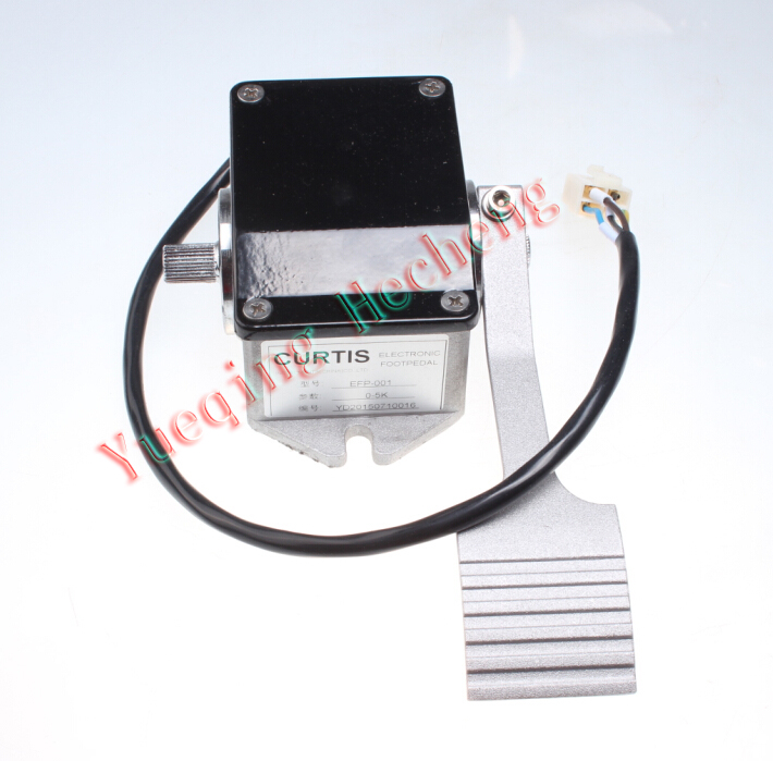 EFP-001 0-5KOhm Electric Foot Pedals Forklift Sightseeing car four-wire цена и фото