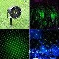 Landscape Lighting Garden Home Party Xmas Buried Lighting IP65 Waterproof Green Outdoor / Indoor Projector Laser Lights AB001