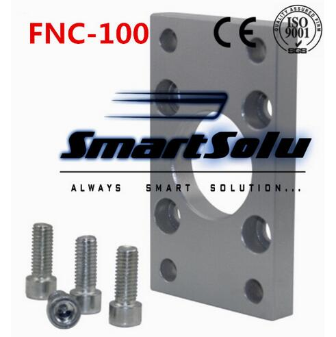 Free Shipping 5pcs/lots ISO6431 cylinder accessories FNC - 100, flange installation pieces, as FNC - 100, DNC, SE, SI free shipping 5pcs lots sg 160 200 iso6431 cylinder attachment y type joint u joints y