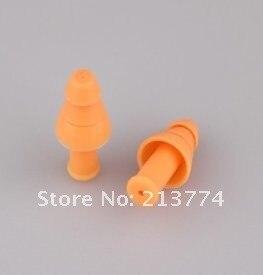 Анти-наушники с шумоподавлением уха против шума натурального силикома три слоя затычки для ушей изоляция безопасность слуховой защиты