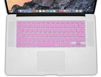 XSKN Korean Letter Laptop Keyboard Stickers For Macbook Air Pro Retina 13 15 Pink Silicon Notebook
