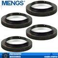 Mengs 4 unids por paquete t2-om lente anillo adaptador de montaje de aleación Material de aluminio Para T2/T Lente Para 4/3 Cuerpo de La Cámara (14150000901)