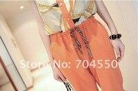 женская Scout дизайн блузка сочетает женщин сочетает в целом длинные брюки о-бюстгальтер шеи бесплатная доставка