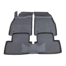 Для Opel Astra J 2009-2017 резиновые коврики с высокими бортиками Seintex 01443