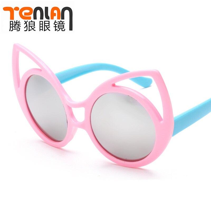 SMART LUXURY FREE SHIPPING New Korean fashion font b sunglasses b font children cartoon anti UV