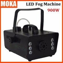 Barato nueva LED 900 W Máquina de Niebla/Humo/Máquina de Nebulizador profesional iluminación de la etapa equipo de DJ máquina De Humo