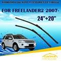 "Limpiaparabrisas Para LAND ROVER FREELANDER 2 (2006) 2007 2008 2009 2010 2011 Parabrisas Parabrisas Rascador 24 ""+ 20"" estilo coches"