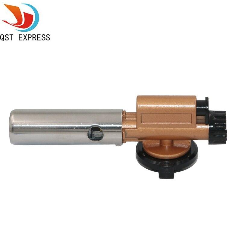 Metal Electronic Ignition Flame Gun Welding Gas Torch Lighter Heating Butane Camping Hiking Torch Welding Equipment