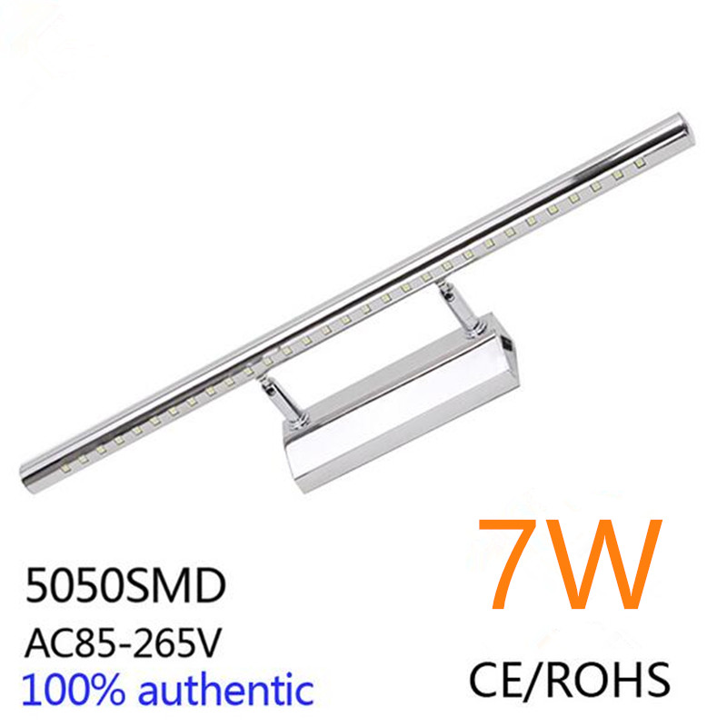 7W LED Bathroom Make up Wall Lights Cabinet Mirror Picture Front ...