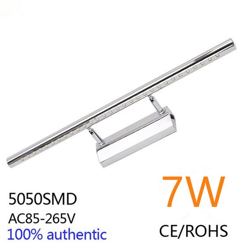 7w led bathroom makeup wall lights cabinet mirror picture front lamp vanity fixutre light bar ac85265v - Vanity Light Bar