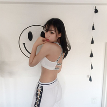 Tanks For Women Seamless Padded Bra Tops Underwear Crop Sexy Casual Fashion Tube top Tank Vest With Chest pad 2018