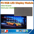 Diy из светодиодов дисплей комплекты 35 шт. P3 закрытый SMD из светодиодов модуль ( 192 * 96 мм ) P3 из светодиодов знак матричный P3 из светодиодов модуль