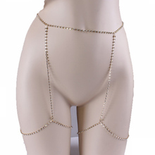 Fashion Claw Crystal leg Chain Body Jewelry Sexy Women Rhinestone Anklet Belly Chains Geometric Club Night Rock Chain 2017 new