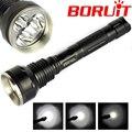 High Power Torch Light 3T6 Flashlight 5 Mode 4000 Lumens 3 * XM-L XML T6 LED Flash light taschenlampe by 2*18650 Battery