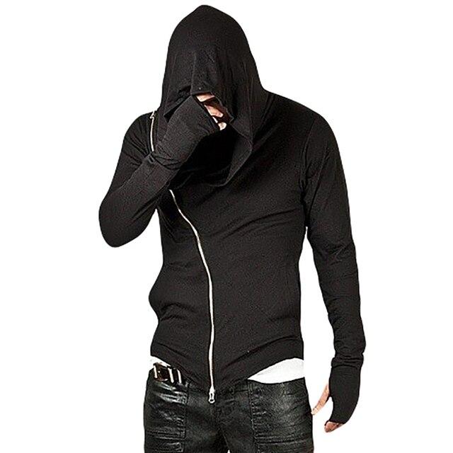 New Arrival Assassins Creed Men's Hooded Hoodies Cool Zip Streetwear