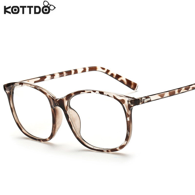 Glasses Frames Us : KOTTDO 2017 Fashion Women Clear Lens Eyewear New Luxury ...