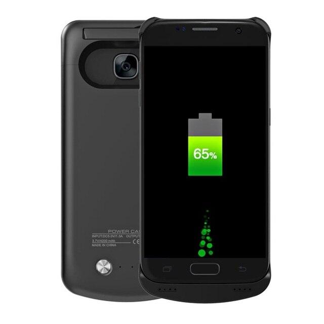 Чехол для Galaxy S7 Случае 4200 мАч Крышка Батарейного Отсека для Samsung Galaxy S7 G930 Крышка (CE, FCC, RoHS) Банк силы Мешок