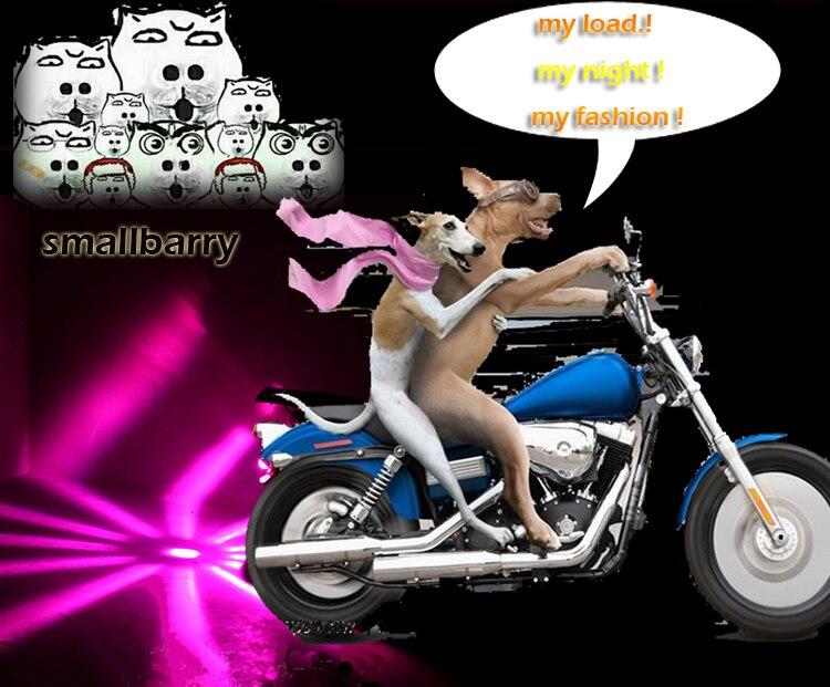 Новое поступление 1 шт. водонепроницаемый суперъяркий мотоциклетный Лазерный фонарь задняя фара туман лампа и предупреждающий свет