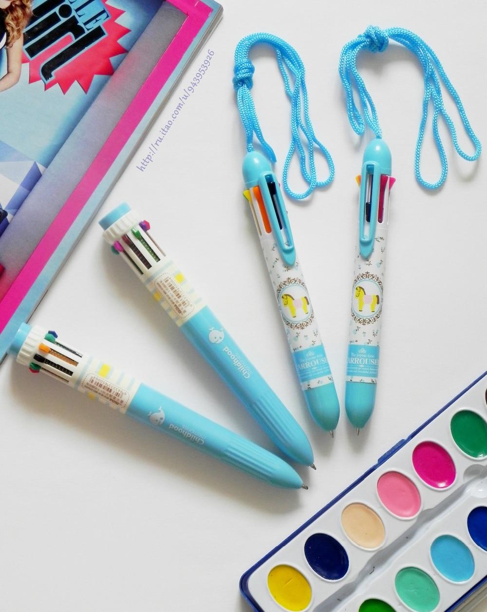 Многоцветные шариковые ручки с Алиэкспресс