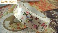 а30-312 бесплатная доставка / новый прекрасные цветы ткань ленты / высокое качество