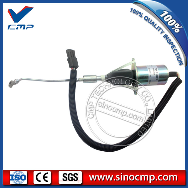 3935456 fuel shutdown solenoid for cummins excavator