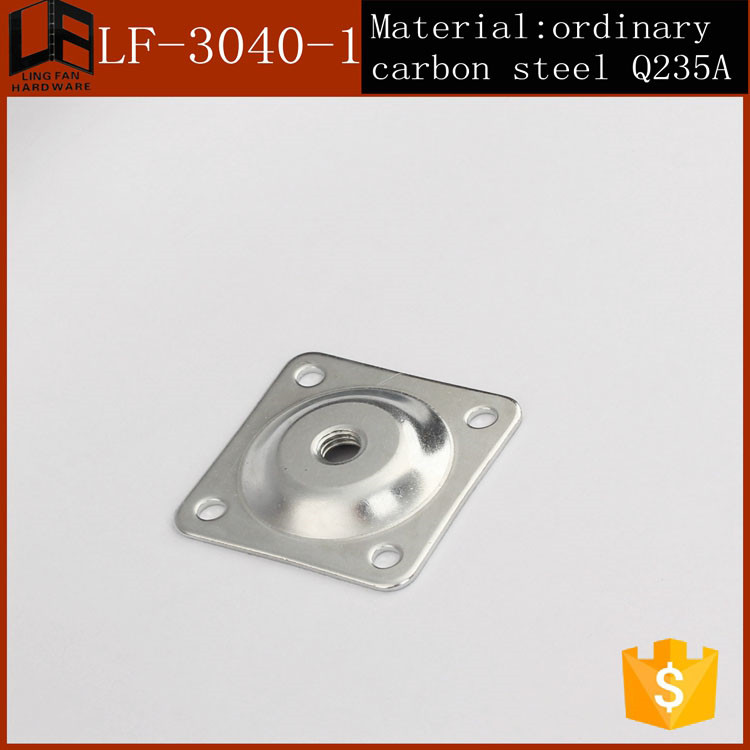 Furniture leg mounting platechair base metal platestable leg angle furniture leg mounting platechair base metal platestable leg angle top plate 11 degree in cabinet hinges from home improvement on aliexpress alibaba watchthetrailerfo