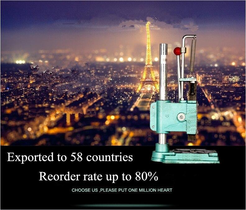 Hand tablettenpresse in 58 länder handpresse maschine