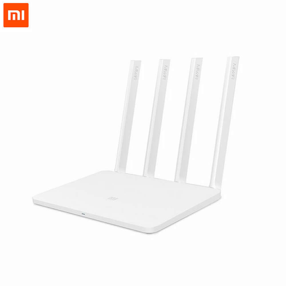 Original Xiaomi Router 3 Mini Mi WiFi Router 4 Antenna Roteador Dual Band 2.4G/5G 867Mbps USB With Smartphone APP Control от Aliexpress INT