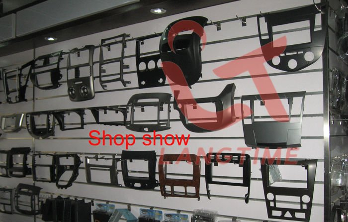 Cheap Free shipping-Car refitting DVD frame,DVD panel,Dash Kit,Fascia,Radio Frame,Audio frame for 07 Honda Accord 2.4 , 2DIN 5