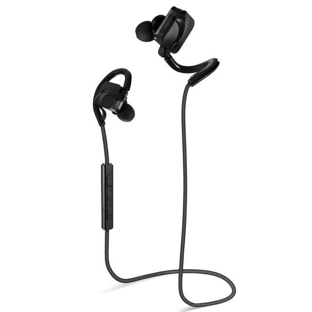 Sports Bluetooth Headset Headphones Noise Cancelling Wireless Earphone Microphone Handsfree Voice Control Running Music Earbud