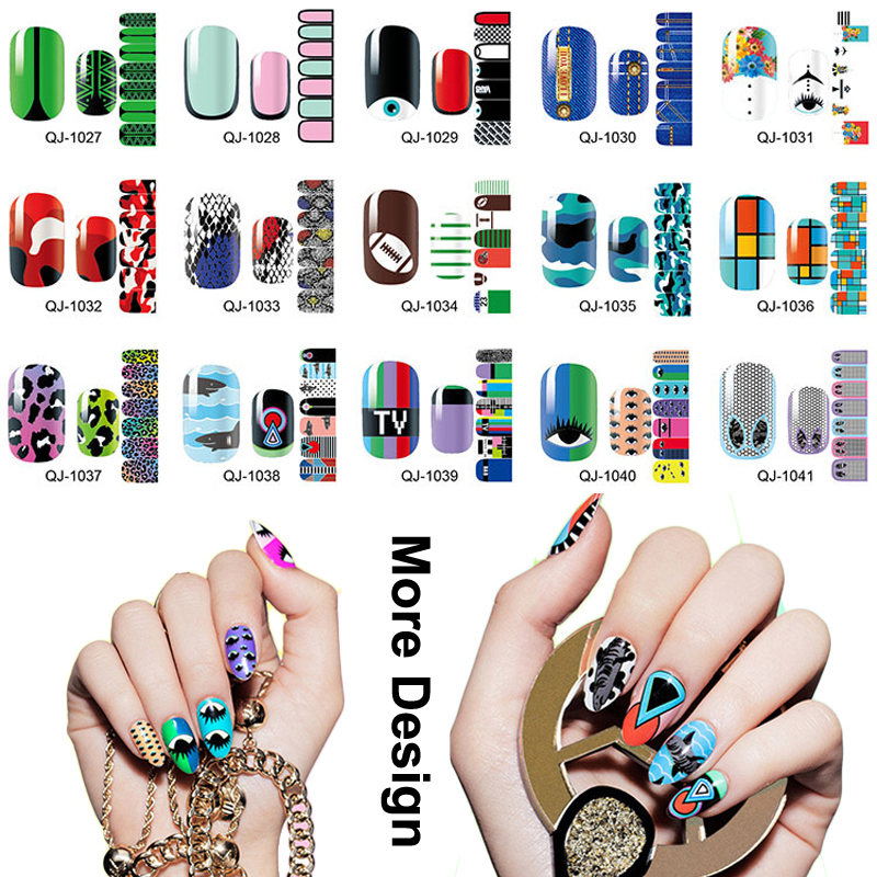 Nail Stickers With Gel Polish   Hession Hairdressing
